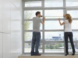 Par opmåler vinduer